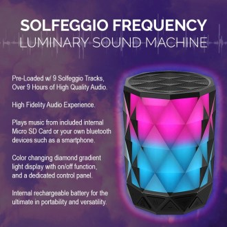 Solfeggio Luminary Sound Machine