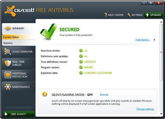 avast free download full version with key