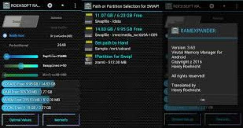 ROEHSOFT RAM Expander (SWAP) v3.64 APK Crack + Activation Key Free Download