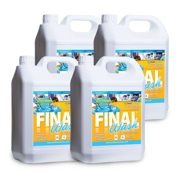 SoftWash Chemicals - Final Wash for rinsing | Softwash-Systems com