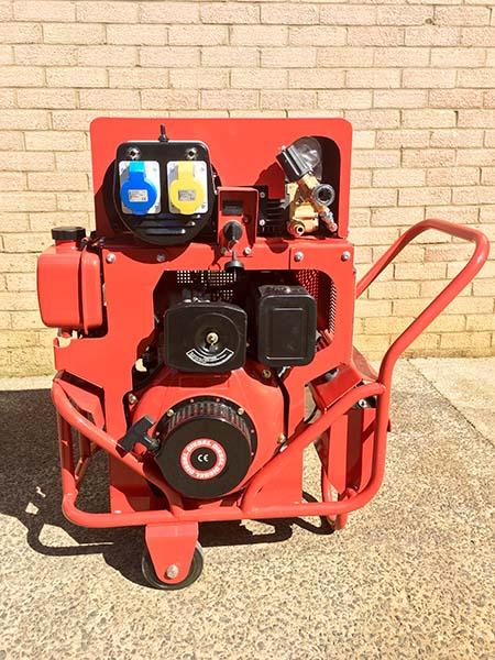 Doff Power Unit