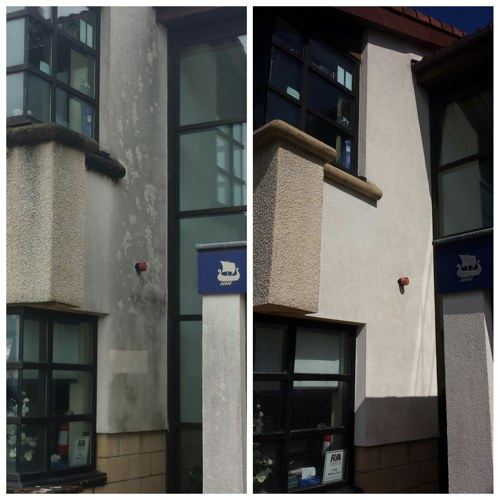 K-Render Cleaning Yacht Haven Largs