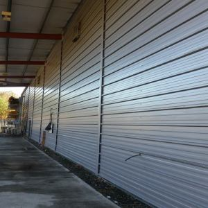 Oil & Grease stains on Metal Cladding