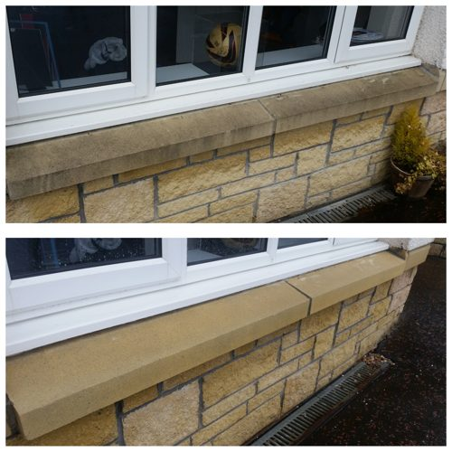 Sand Stone Cleaning Scotland .