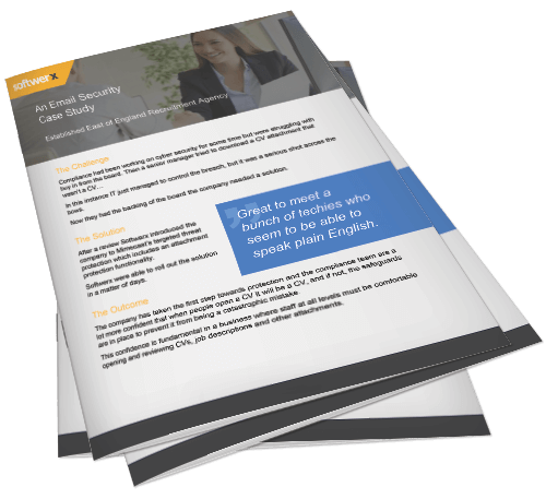 Preview of email security in the recruitment sector case study