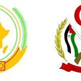 Escudo Unión Africana y Escudo RASD