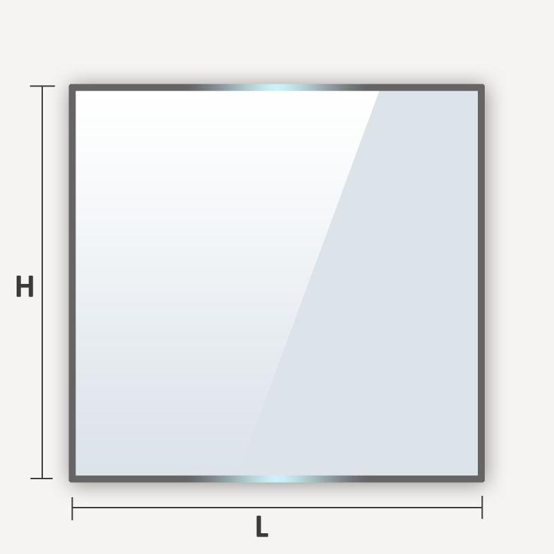 soglass propose la decoupe de verre sur mesure comme verre trempe en triangle rectangle
