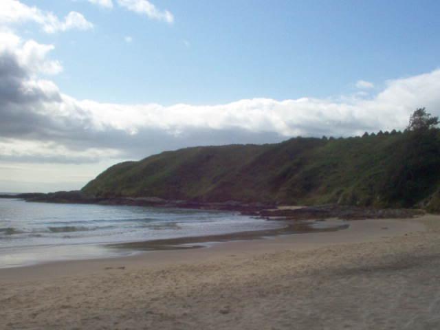 Camping sulla spiaggia a Wicklow