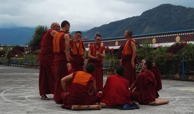 dormire in un monastero tibetano in Nepal