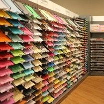 De beaux papiers colorés