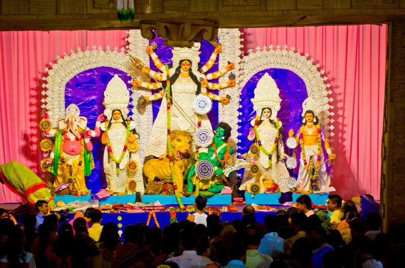 Durga Pujo 2014 @ Jamshedpur - Maha Ashtami (2/6)