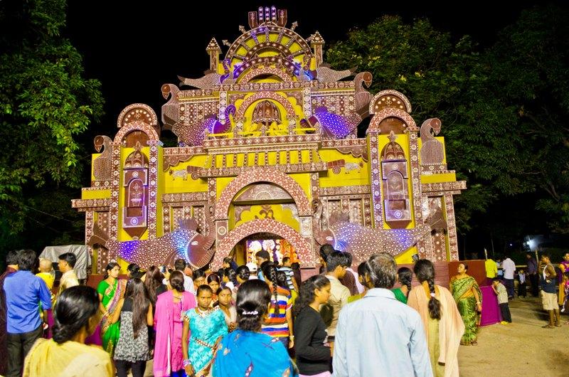 Durga Pujo 2014 @ Jamshedpur - Maha Navami (2/6)