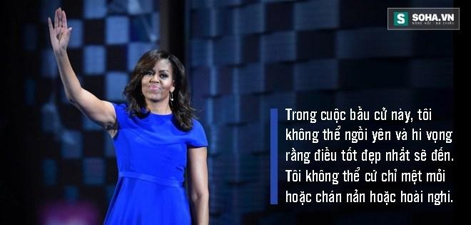 Toàn văn phát biểu của bà Obama tại đại hội đảng Dân chủ - Ảnh 7.