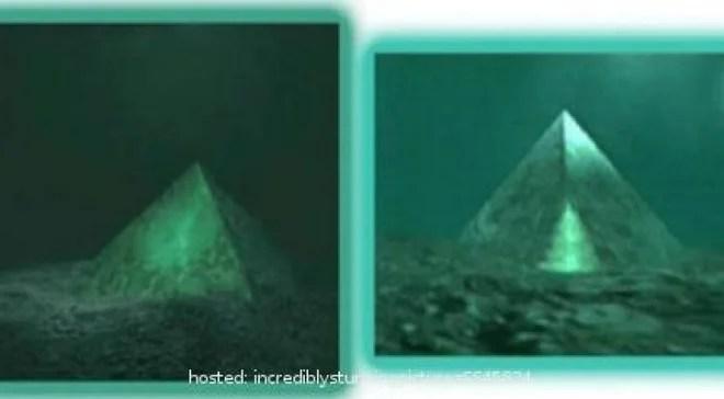 Phát hiện 2 kim tự tháp thủy tinh dưới biển Tam giác quỷ Bermuda - Ảnh 1.