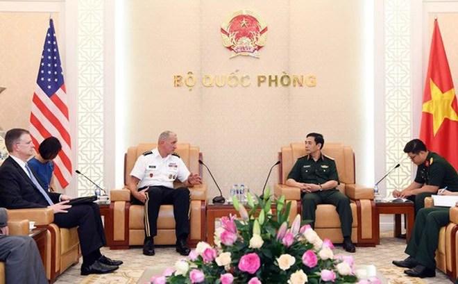 Thúc đẩy hợp tác lục quân giữa Việt Nam và Hoa Kỳ