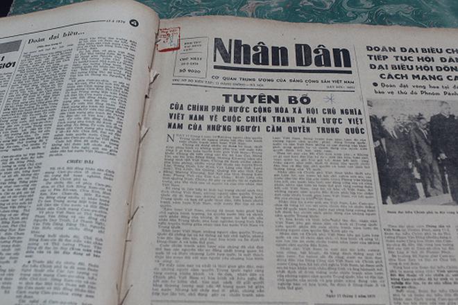 Báo chí Việt Nam viết về cuộc chiến tranh bảo vệ biên giới phía Bắc năm 1979 - Ảnh 10.