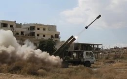 Tên lửa, pháo binh Syria gầm thét băm nát phiến quân IS tử thủ ven Damascus