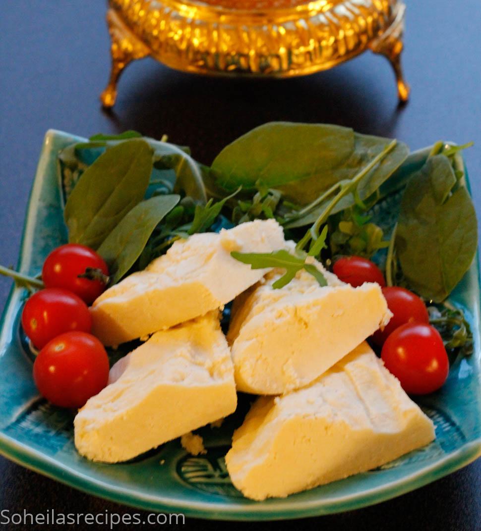 Hjemmelaget ost med eddik