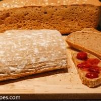 Brød med surdeigsmel og surdeigspulver