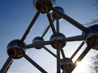 The Atomium in Brussels, Belgium
