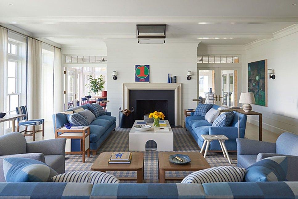comfortable furnishings living room