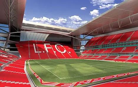Stadium Liverpool, Anfield