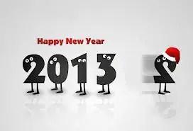 Selamat tinggal 2012...Selamat datang 2013