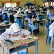 doa menduduki peperiksaan