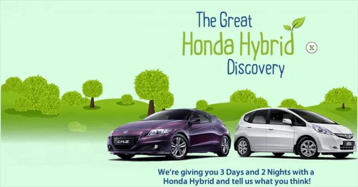 Honda Hybrid Family Road Trip