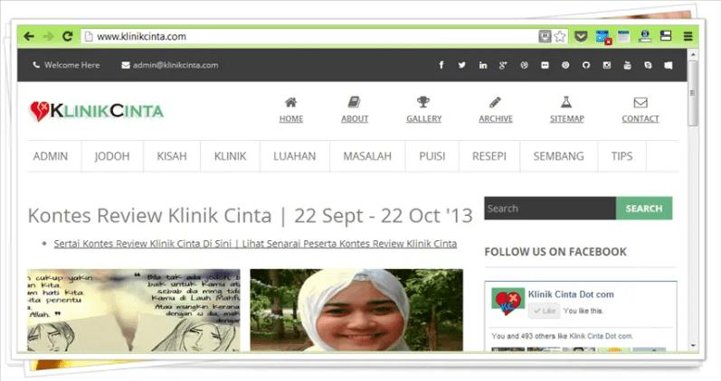 gambar blog klinik cinta