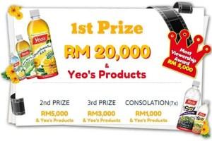 hadiah daripada kontes Kontes Video Funderful Yeo's 2013