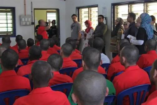 dewan makan dan seminar penghuni penjara