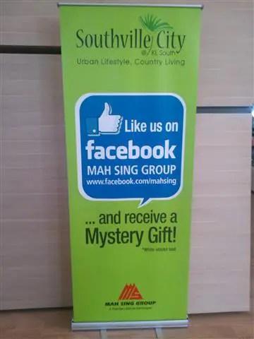 Anda boleh LIKE Fanpage Mah Sing untuk mendapat berita terkini