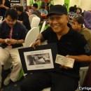 Allahyarham sewaktu menghadiri Sepetang Bersama Blogger tahun lepas (kredit: eyriqazz.com)
