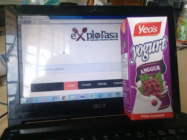 yogurt anggur