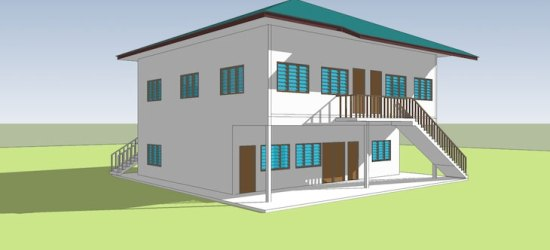 pelan bangunan baru Madrasah An-nuur