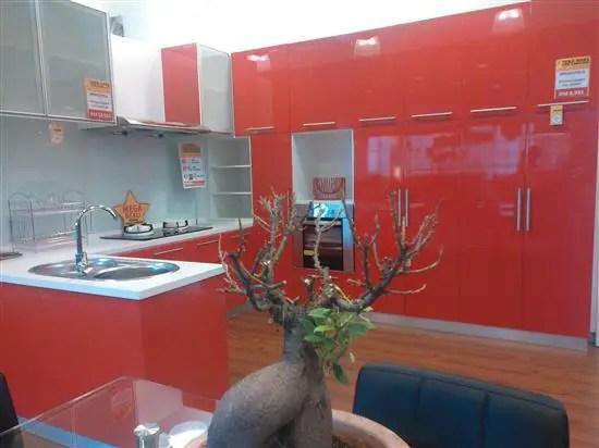 kabinet dapur juga boleh ditempah di sini