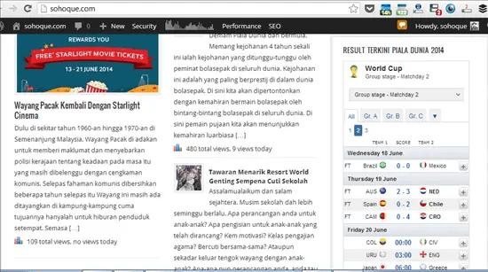 contoh widget piala dunia 2014 di blog