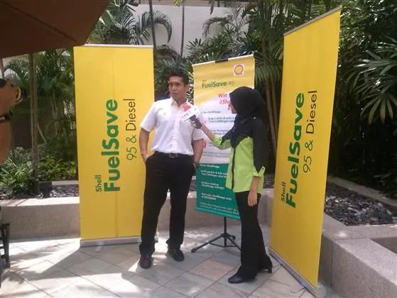 Fahrin Ahmad, Duta Shell FuelSave
