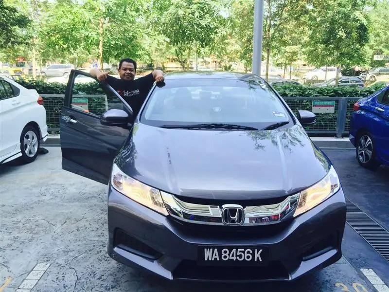 Honda Malaysia Memperkenalkan City Serba Baharu - Hanya RM74,007