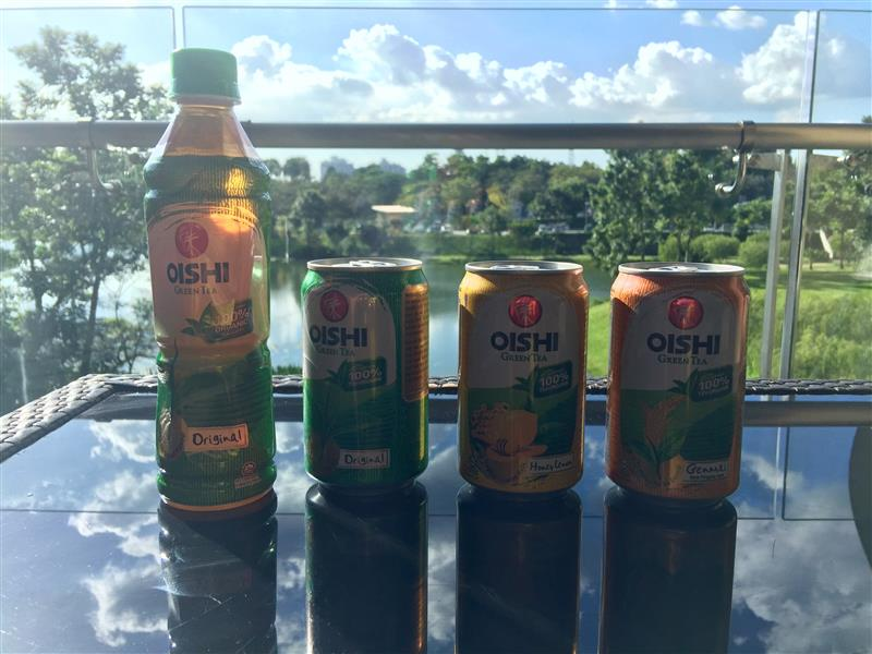 oishi-green-tea
