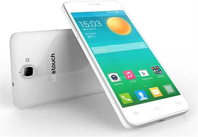 smartphone terbaik untuk selfie, Alcatel Onetouch Flash