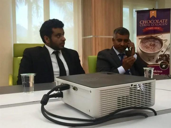 rakan kongsi daripada Abu Dhabi