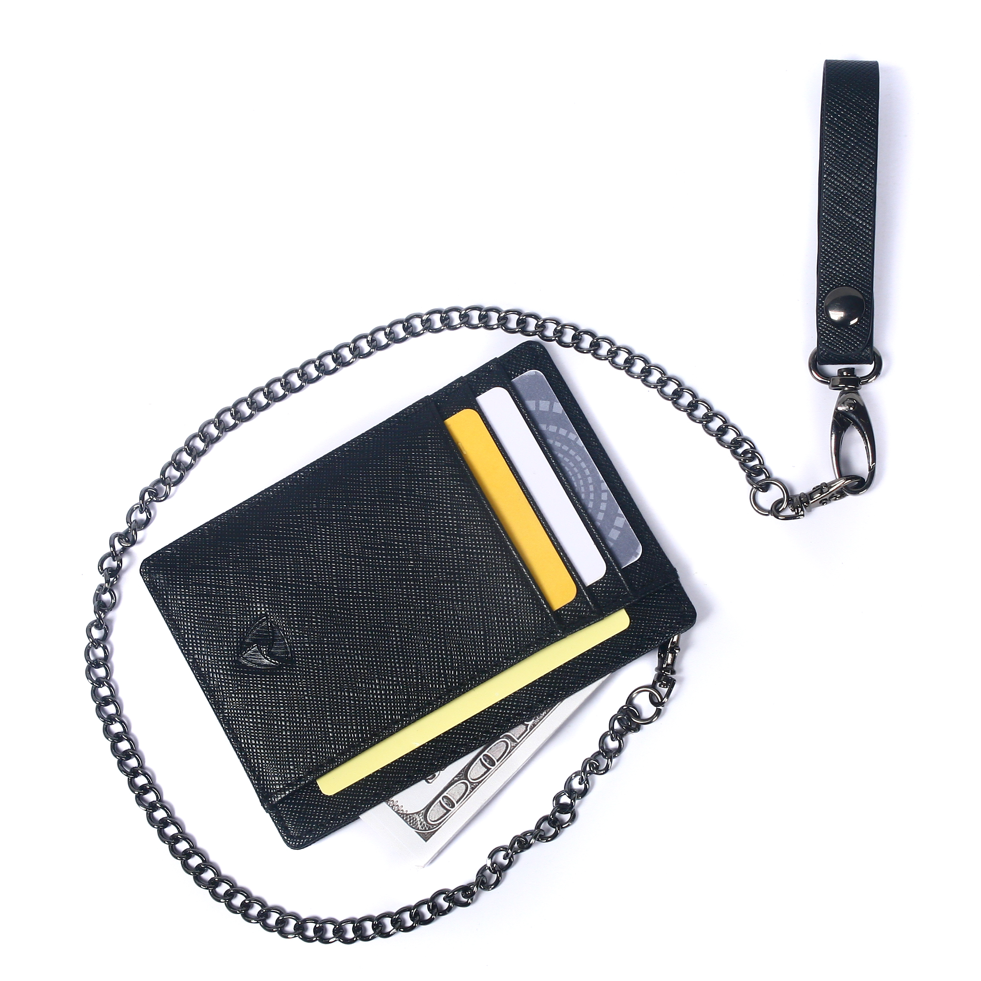STRONG SECURITY SNATCH CHAIN ANTI THEFT WALLET PURSE KEYS