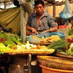 open air cambodian market