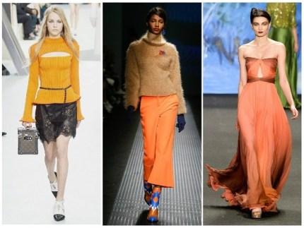 Модный цвет: оранжевый кадмий