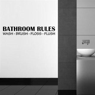 Plakat Til Toilet Badevaerelse Humoristisk Toiletplakat