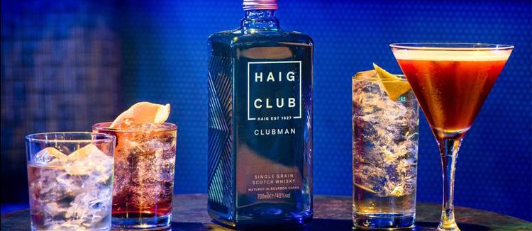 Haig Club, le scotch qui casse les régles avec les cocktails