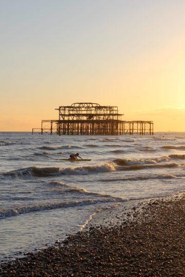 Meilleur endroit coucher de soleil Brighton