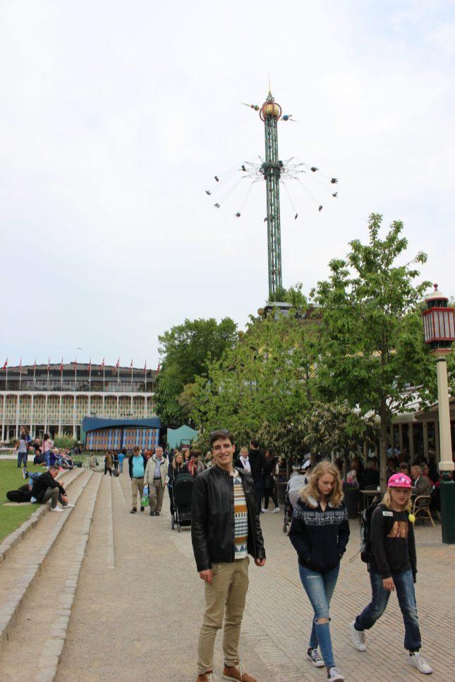 Jardin de Tivoli Copenhague